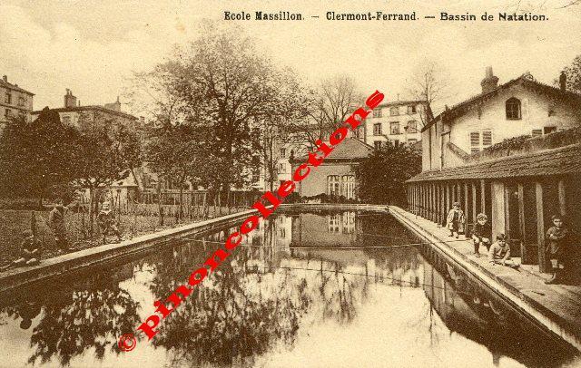 Clermont ferrand 63 ecole massillon bassin de - Bassin pierre reconstituee clermont ferrand ...