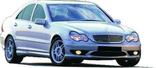 BUMPERS MERCEDES 2003 AHG FRONT
