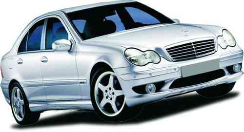 BUMPERS MERCEDES 2003 AKG SPORT FRONT