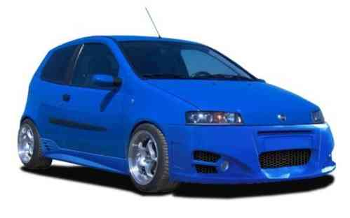 BUMPERS FIAT PUNTO 2000/2 GHOST 3 D FRONT