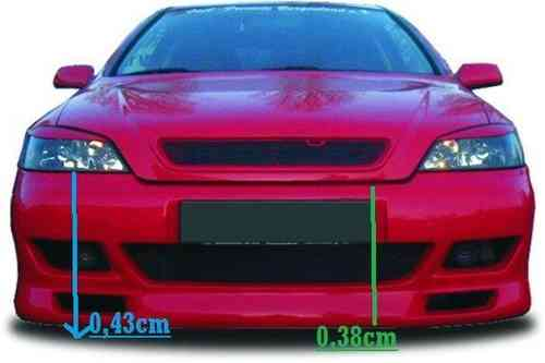 BUMPERS OPEL ASTRA G FRONT