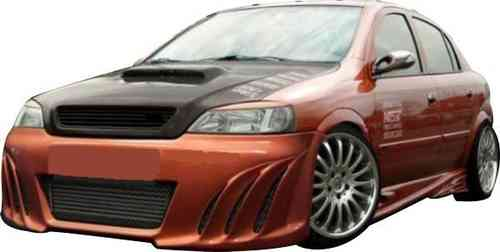 BUMPERS OPEL ASTRA G SHARK FRONT