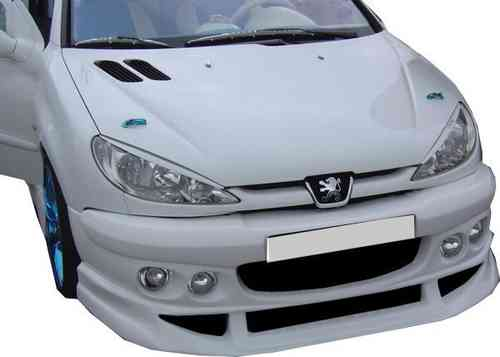 BUMPERS PEUGEOT 206 COMPETITION FRONT