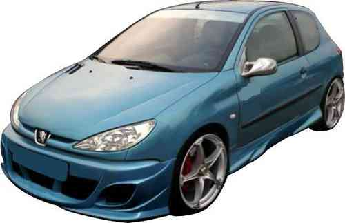 BUMPERS PEUGEOT 206 RS FRONT
