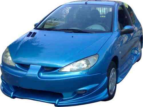 BUMPERS PEUGEOT 206 FURIOUS FRONT