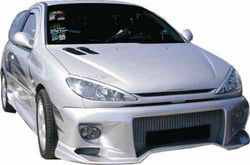 BUMPERS PEUGEOT 206 RADIKAL FRONT