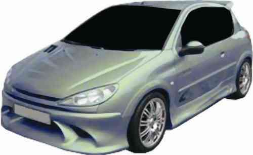 BUMPERS PEUGEOT 206 INFINITY FRONT