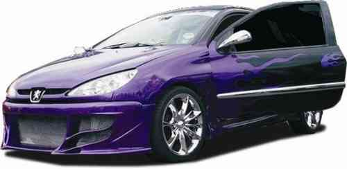 BUMPERS PEUGEOT 206 IMPACT FRONT