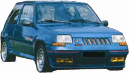 BUMPERS RENAULT SUPER 5 FRONT