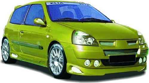 SIDE SKIRTS RENAULT CLIO 2002 3/P