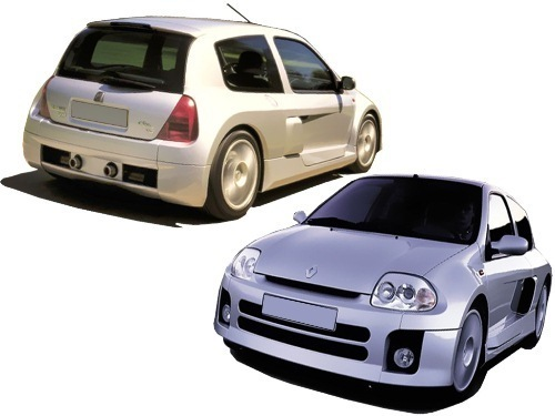 BODY KIT RENAULT CLIO 98 V6 WIDE