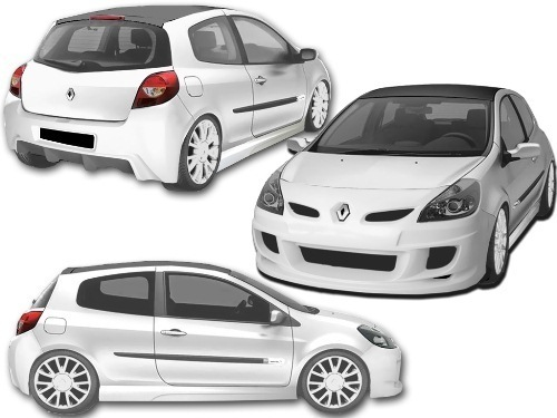 BODY KIT RENAULT CLIO 06 SPORT