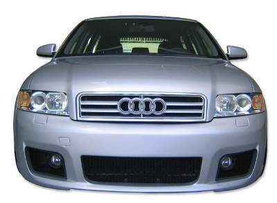 FRONTSTOßSTANGE AUDI A4 '03 + PLASTIC GRILL