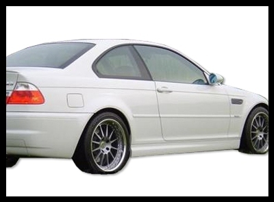 SIDE SKIRT BMW S - 3 E- 46 '98- '04 ABS