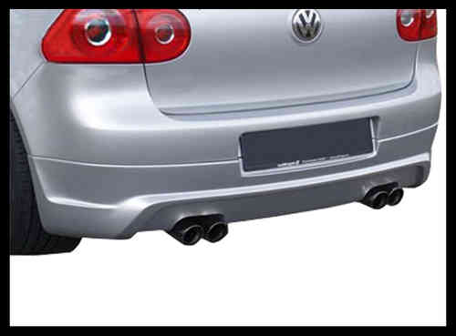 REAR SPOILER VW . GOLF V 2EX .