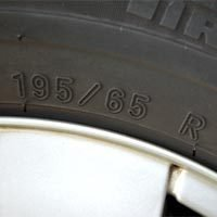 Lire tout le message: Meaning of the lateral tire registration