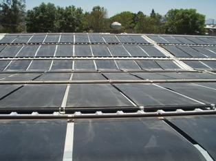 Panel solar de polipropileno