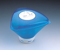 Floating chlorine dispenser New Generation