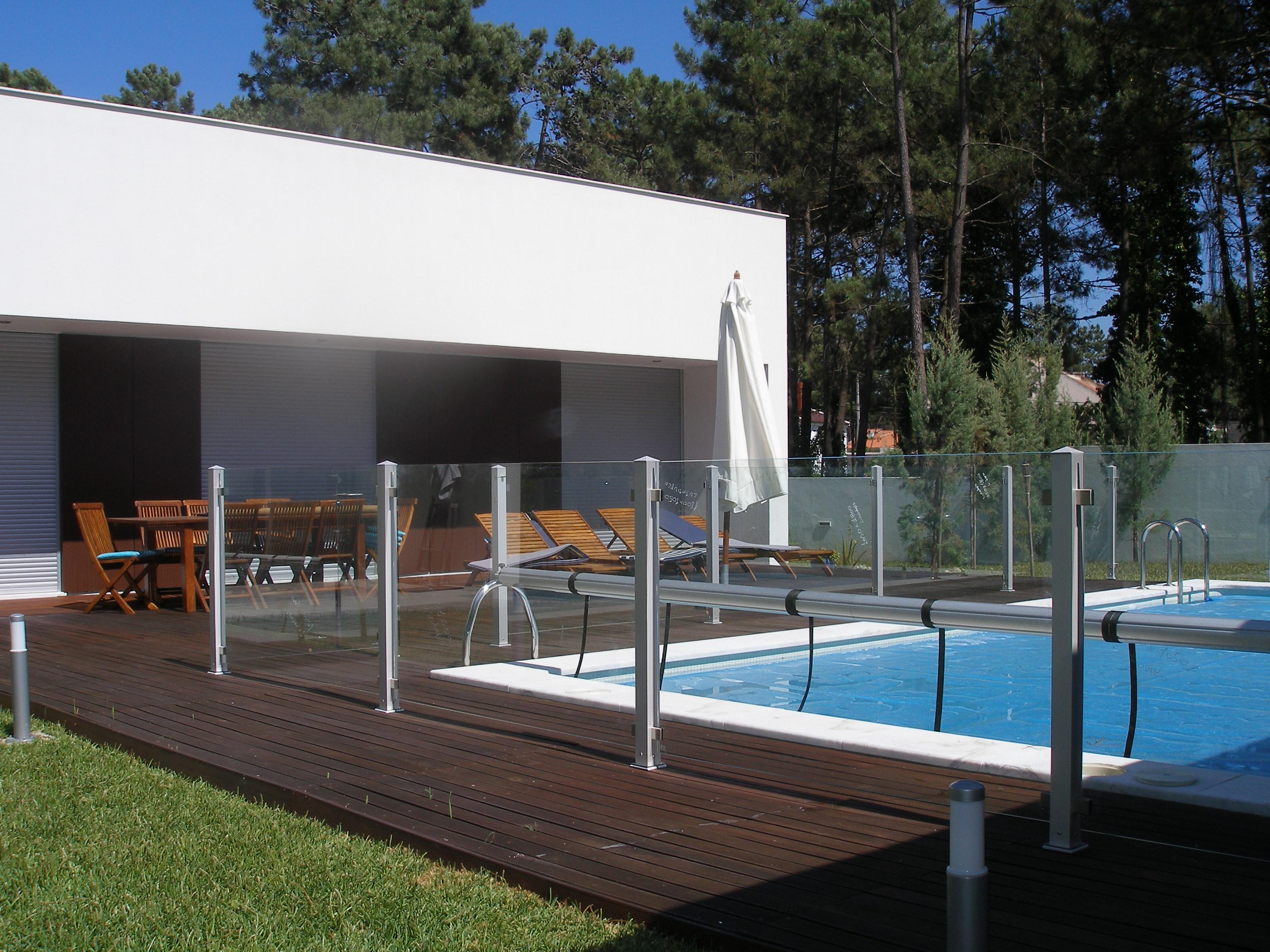 Vallas para piscinas de policarbonato o cristal pida - Cristal policarbonato ...
