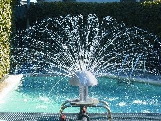 Fuente de piscinas Setas de agua 250mm
