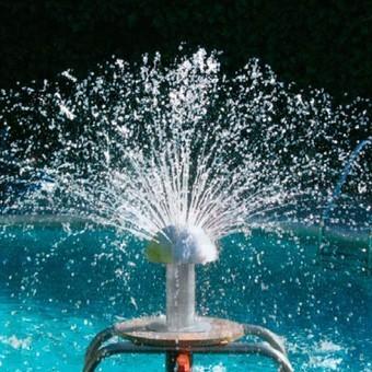 Fuente de piscina setas de agua 400mm