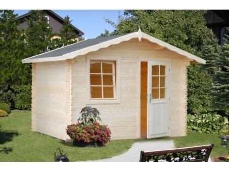 Caseta de jardín de madera Laura 1