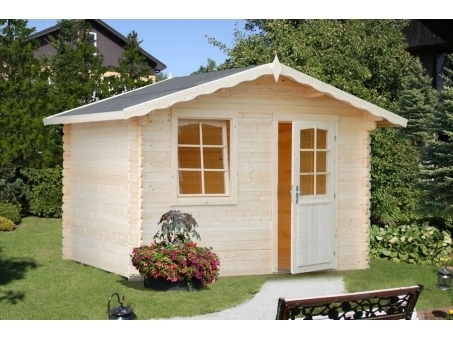 Caseta de jardín de madera Laura 4