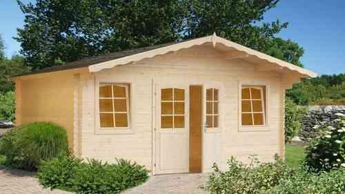 Caseta de jardín de madera Mónica