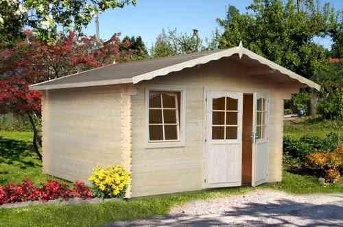 Caseta de jardín de madera Emma 1