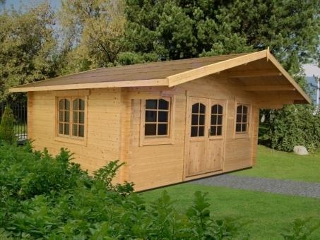 Caseta de jardín de madera Caroline 1