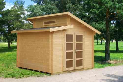 Caseta de jardín de madera Dora