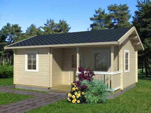 Casa de madera modelo Sandra