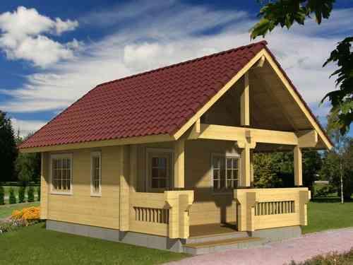 Casa de madera modelo Johanna