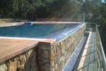 Concrete labor swimming pool 6X3