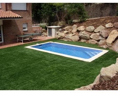 Concrete labor swimming pool 6X3