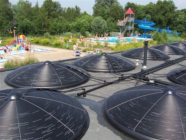 Climatización con disco solar 32 m2