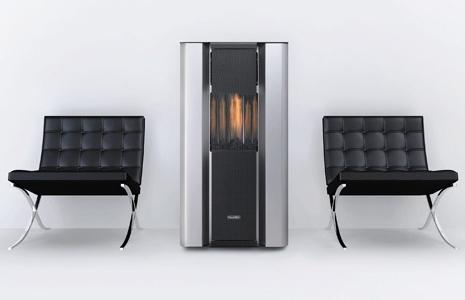Calefactor de interior de diseño para esquinas