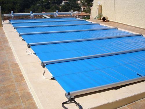 Cobertor deslizante de seguridad para piscinas