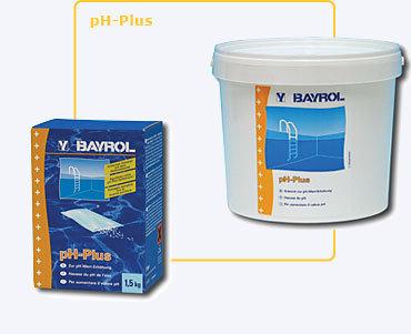 Aumentador de pH en polvo pH-plus