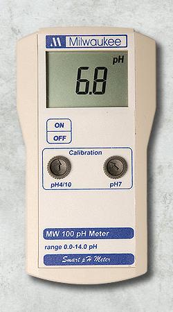 Medidor portátil de pH