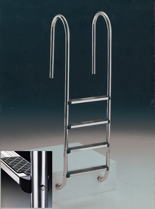 Staircase Wall model AISI-316 steel
