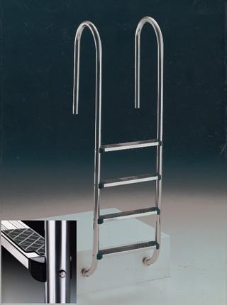 Escalera modelo Muro en acero AISI-316