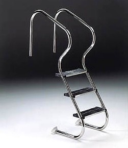Ladder for easy access pools