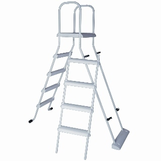 Range of ladders for above ground pools