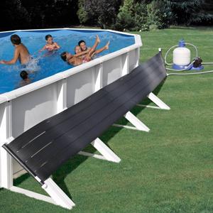 Calefacción solar para piscinas elevadas