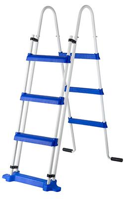 Escalera se seguridad de 1,20 m y 2 x 3 peldaños