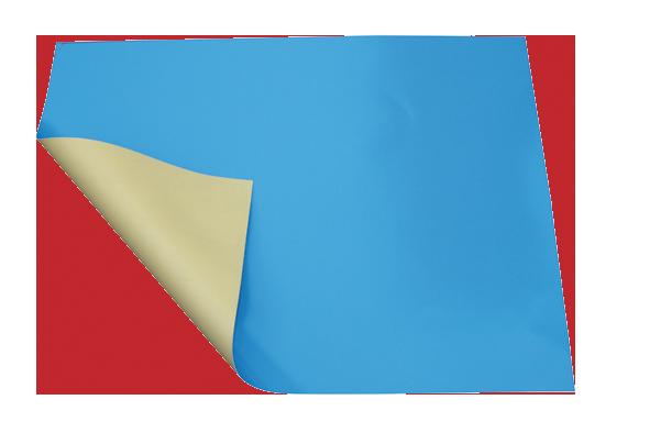 Cobertor de invierno para piscinas azul/crema