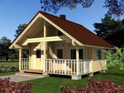 Casa de madera modelo Leila 2