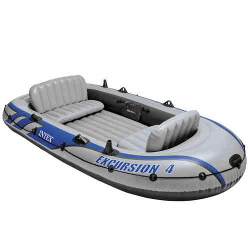 Barco de excursión para 4 personas