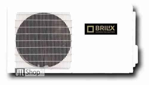 Bomba de calor Brilix para piscinas de 75-90 m3